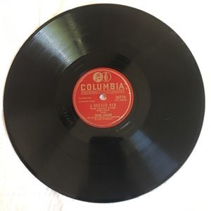 Frank Sinatra Records 78RPM set of 7 records